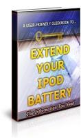 Extend Your Ipod Battery Life