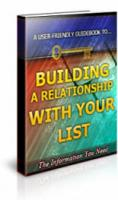 Building A Relationship With You...