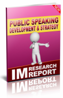Public Speaking Development And ...