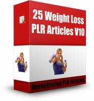 25 Weight Loss PLR Articles V 10...
