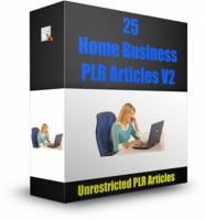 25 Home Business PLR Articles V2