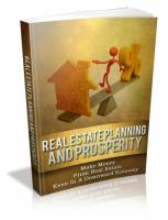 Real Estate Planning And Prosper...