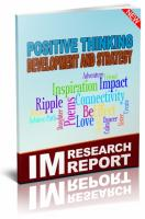 Positive Thinking Development An...