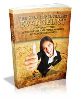 The Self Improvement Evangelist