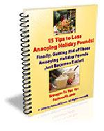Lose Annoying Holiday Pounds