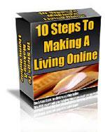 10 Steps To Make A Living Online