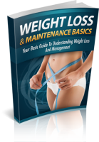 Weight Loss And Maintenance Basi...