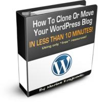 Clone Your Word Press Blog