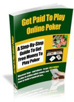 Get Paid To Play Online Poker