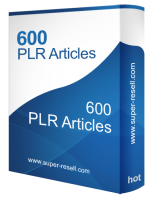 600 PLR Articles