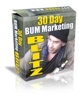 30 Days Bum Marketing Blitz