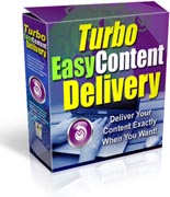 Turbo Easy Content Delivery