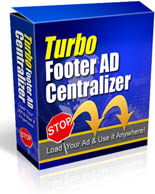 Turbo Footer Ad Centralizer