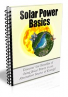 Solar Power Basics Newsletter