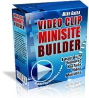 Video Clip Mini Site Builder