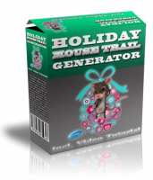 Holiday Mouse Trail Generator