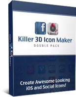 Killer 3D Icon Maker Double Pack...