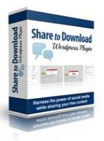 Share To Download WP Plugin