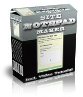 Site Notepad Maker