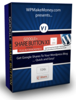 Google Share Button WP Plugin