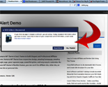 Fakebook Alert WP Plugin