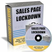 Sales Page Lock Down