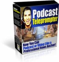 Podcast Telepromoter