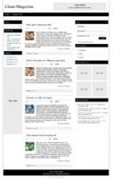 Clean Magazine Responsive WP The...