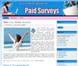 Paid Surveys Website Templates