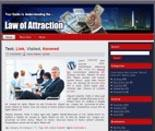 Law Of Attraction Website Templa...