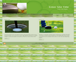 Golf Website Templates ( 1 )
