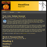 Halloween Website Templates ( 1 ...