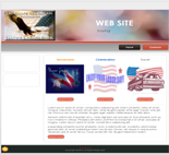 Labor Day Website Templates ( 4 ...