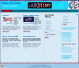 Labor Day Website Templates ( 3 ...