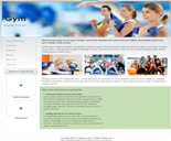 Gym Fitness Website Templates