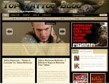 Tattoo Blog Theme