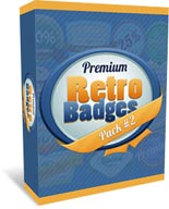 Premium Retro Badges Pack 2
