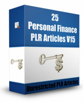25 Personal Finance PLR Articles...