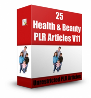 25 Health & Beauty Articles V 11