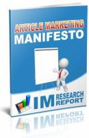 Article Marketing Manifesto