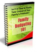 Family Budgeting 101 NewsLetter