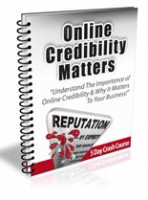 Online Credibility Matters