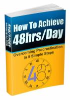 How To Achieve 48 Hours/Day